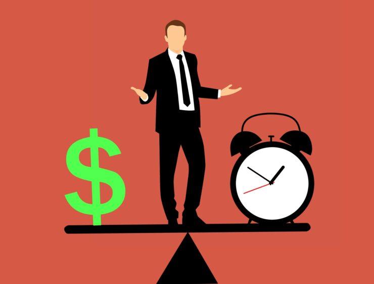 Balance entre tiempo y dinero